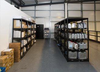 VWAuditec equipment storage